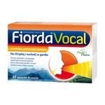 Fiorda Vocal, smak pomarańczowym, pastylki do ssania, 30 szt.