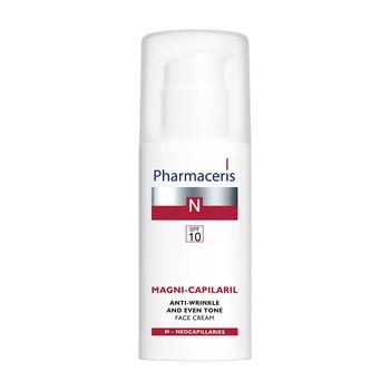 Pharmaceris N Magni-Capilaril, aktywny krem przeciwzmarszczkowy, SPF 10, 50 ml