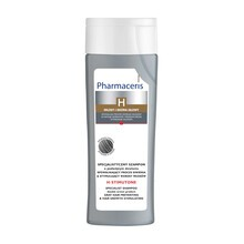 Pharmaceris H-Stimutone, specjalistyczny szampon spowalniający proces siwienia i stymulujący wzrost włosów, 250 ml