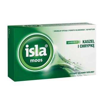 Isla-Moos, pastylki do ssania, 60 szt.