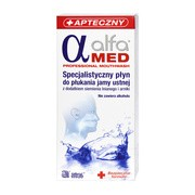 Alfa Med, płyn do płukania jamy ustnej, 200 ml