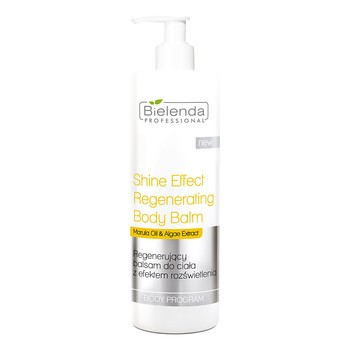 Bielenda Professional, regenerujący balsam do ciała z efektem rozświetlenia, 500 ml