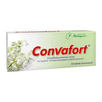 Convafort, 15,7 mg, tabletki drażowane, 30 szt.