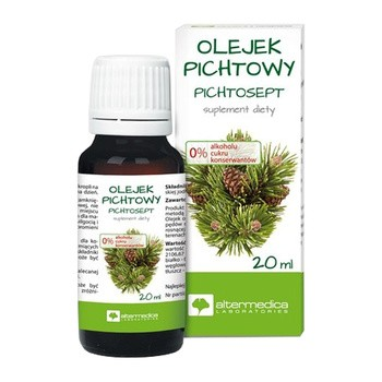 Olejek Pichtowy Pichtosept, 20 ml (Alter Medica)