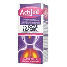 Actifed, (1,25 mg+30 mg+10 mg/5ml), syrop, 100 ml