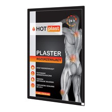 HotPlast, plaster rozgrzewający, 9x14 cm, 1 szt.