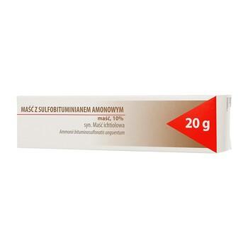 Maść ichtiolowa, (Maść z sulfobituminianem amonowym), 20 g (Hasco)