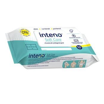 INTENO Soft Care, chusteczki pielęgnacyjne, 50 szt.