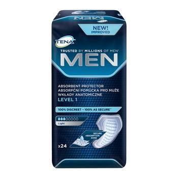 TENA Men Light, wkłady anatomiczne, level 1, 24 szt.