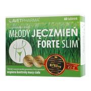 Młody Jęczmień Forte Slim, tabletki, 60 szt.