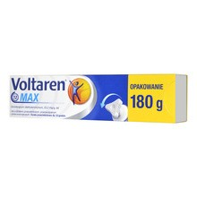 Voltaren Max, 23,2 mg/g, żel, 180 g
