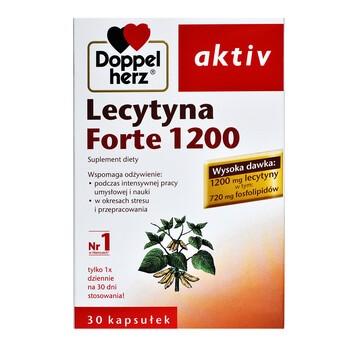 Doppelherz aktiv Lecytyna Forte 1200, kapsułki, 30 szt.