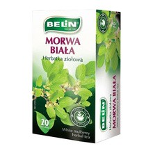 Belin Morwa biała, herbatka ziołowa, fix, 2 g, 20 saszetki