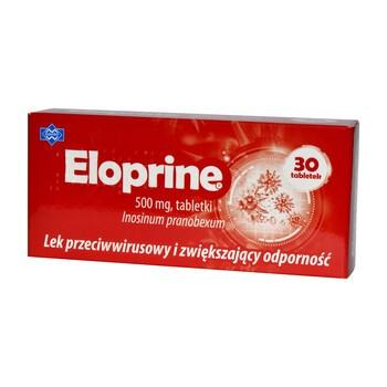 Eloprine, 500 mg, tabletki, 30 szt.