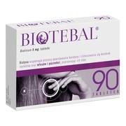 Biotebal, 5 mg, tabletki, 90 szt.
