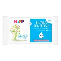 HiPP Babysanft UltraSensitive, chusteczki nawilżane, 52 szt.