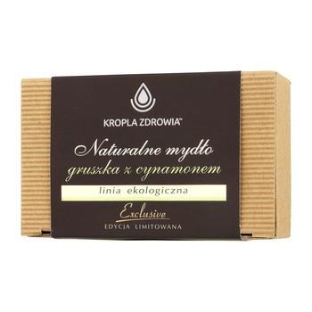 Kropla Zdrowia, mydło naturalne z gruszką i cynamonem, 130 g