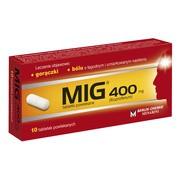 MIG, 400 mg, tabletki powlekane, 10 szt.