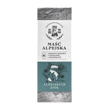 Maść alpejska Linia Natury, chłodząca, 100 ml