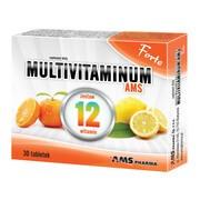 Multivitaminum AMS Forte, tabletki, 30 szt.