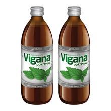 Zestaw Promocyjny Vigana Pokrzywa, sok, 500 ml x 2 opakowania