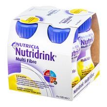 Nutridrink Multi Fibre, smak waniliowy, płyn, 4 x 125 ml