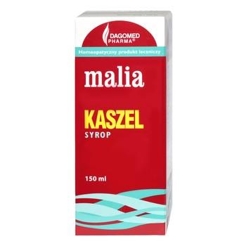 Dagomed Malia Kaszel, syrop bez cukru, 150 ml