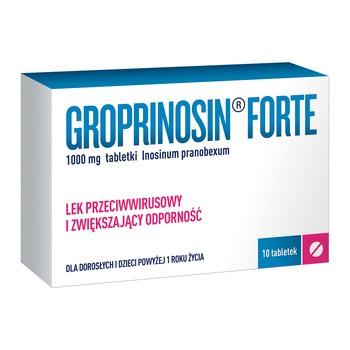 Groprinosin Forte, 1000 mg, tabletki, 10 szt.