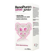 RenoPuren Zatoki Junior, płyn, 120 ml
