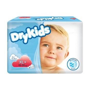 Dry Kids, piel-m, XL+ (15-30 kg), 30 szt (5619)