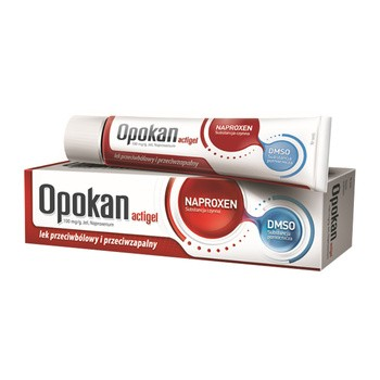 Opokan Actigel, 10% (100 mg/g), żel, 50 g, tuba