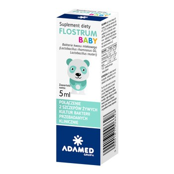 Flostrum Baby, krople, 5 ml