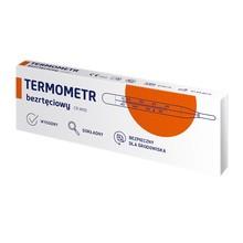Termometr lekarski CR.W00, szklany, bezrtęciowy, 1 szt.