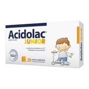 Acidolac Junior, misio-tabletki, smak pomarańczowy, 20 szt.