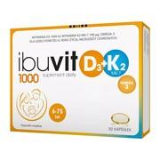 Ibuvit D3 1000+K2 MK-7 0mega 3, kapsułki, 30 szt.