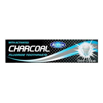 Beauty Formulas Active Charcoal, pasta do zębów z aktywnym węglem, 125 ml