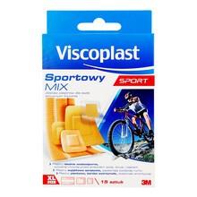 Viscoplast Sportowy Mix, zestaw plastrów, 15 szt.