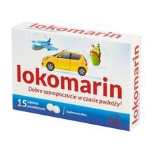 Lokomarin, tabletki powlekane, 15 szt.