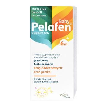 Pelafen Baby 6m+, kapsułki twist-off, 20 szt.