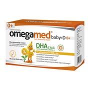 Omegamed Baby+D 0+, kapsułki twist-off, 60 szt.
