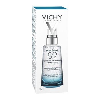 Vichy Mineral 89, codzienny booster nawilżająco-wzmacniający, 50 ml
