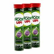 Zestaw 3x Vigor Up! Fast, o smaku owoców leśnych, tabletki musujące, 20 szt.