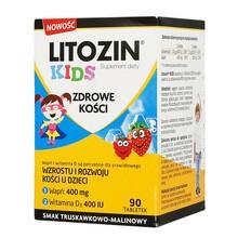 Litozin Kids, tabletki do rozgryzania, 90 szt.