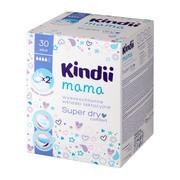 Kindii Mama, wkładki laktacyjne, super dry, 30 szt.