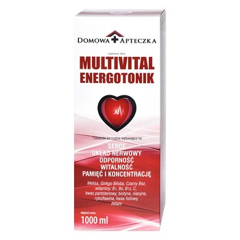 Multivital Energotonik, płyn, 1000 ml