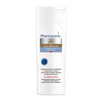 Pharmaceris H-Stimuclaris, specjalistyczny szampon stymulujący wzrost włosów i przeciwłupieżowy, 250 ml