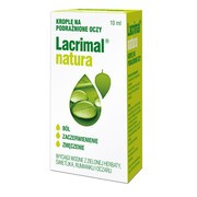 Lacrimal natura, krople do oczu, 10 ml