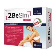 2Be Slim Forte, tabletki na dzień i tabletki na noc, 30 szt. + 30 szt.