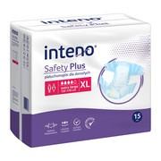 Inteno Safety Plus, pieluchomajtki dla dorosłych, XL, 15 szt.