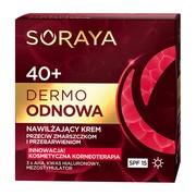 Soraya Dermo Odnowa 40+, nawilżający krem przeciw zmarszczkom i przebarwieniom na dzień, 50 ml
